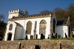 Selworthy Kirche Somerset England Stockbilder