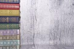 Eine Reihe Bücher lizenzfreie stockfotografie