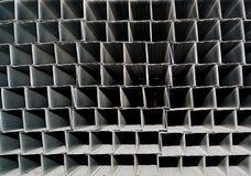 Eine Reihe des Aluminiumprofils Lizenzfreies Stockfoto