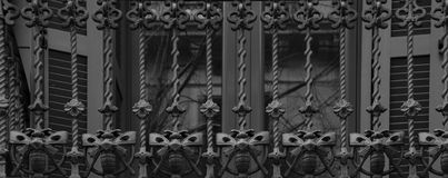 Eine Reihe von Eisenschmetterlingen Lizenzfreies Stockbild