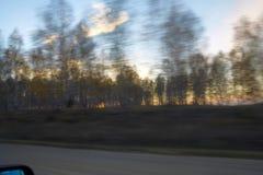 Eine Reise auf der Straße Lizenzfreie Stockfotos