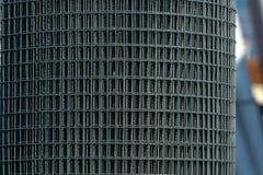 Eine Rolle der Stahlmasche Stockfotos