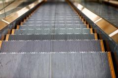 Eine Rolltreppe Stockfoto