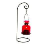 Eine rote Lampe Lizenzfreie Stockbilder