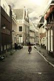 Eine ruhige Straße Lizenzfreies Stockfoto