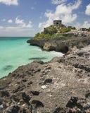Eine Ruine mit einer Ansicht lizenzfreie stockfotografie