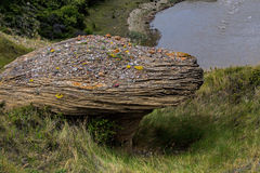 Eine Sandstein-Felsformation Lizenzfreies Stockbild