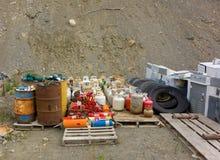 Eine saubere Deponie in Nord-Kanada Stockfotos