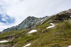 Eine schöne Ansicht der österreichischen Alpen Lizenzfreies Stockbild