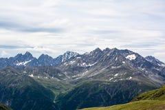 Eine schöne Ansicht der österreichischen Alpen Lizenzfreie Stockbilder