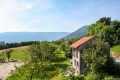 Eine schöne Ansicht der österreichischen Alpen Lizenzfreie Stockfotografie