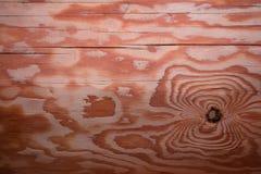 Eine schöne Beschaffenheit eines geplanten Klotzes gemacht vom Kiefernholz Lizenzfreies Stockbild