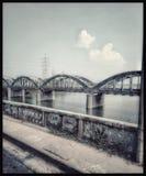Eine schöne Brücke stockbild