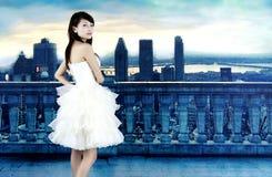 Eine schöne Braut Lizenzfreies Stockfoto