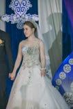 Eine schöne chinesische Braut Stockfotos