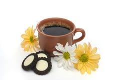 Eine schöne Kaffeeszene Lizenzfreies Stockfoto