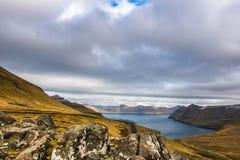 Eine schöne Landschaft Stockfotografie