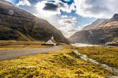 Eine schöne Landschaft Stockbilder
