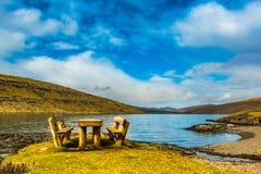 Eine schöne Landschaft Stockfoto