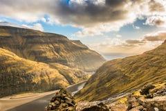 Eine schöne Landschaft Stockbild