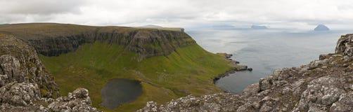 Eine schöne Landschaft in Färöern Lizenzfreies Stockbild