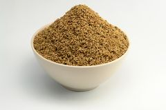 Eine Schüssel von Anise Seed stockfoto