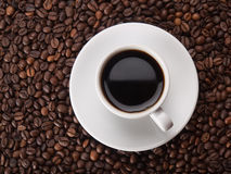 Eine Schale coffe Lizenzfreie Stockfotos