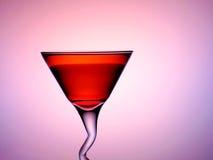 Eine Schale des Cocktailtrinkens Stockfoto