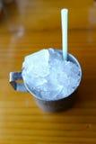 Eine Schale Eis Lizenzfreies Stockfoto