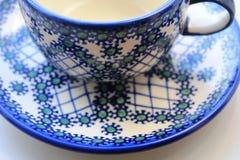 Eine Schale für Tee Stockfotos