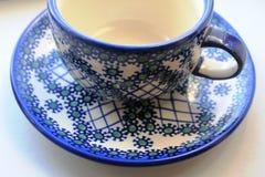 Eine Schale für Tee Lizenzfreie Stockfotografie