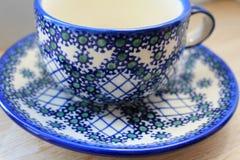 Eine Schale für Tee Lizenzfreies Stockbild