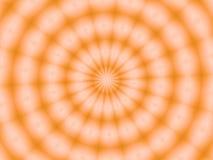 Eine Scheibe der Orange Stockbild
