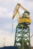 Eine Schiff-anhebende Anlage und eine Struktur für das Errichten Stockfoto