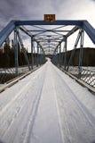 Eine schmale Brücke Stockbilder