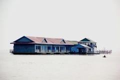 Eine Schule im Wasser. Lizenzfreie Stockfotografie