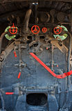 Eine sehr alte Dampfserie Lizenzfreies Stockfoto