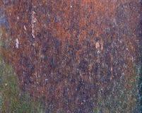 Eine sehr alte rostige Eisenbeschaffenheit Nahaufnahme Lizenzfreies Stockbild