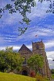 Eine sehr englische Kirche Stockfoto