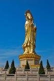 Eine sehr große Statue von Guanyin Lizenzfreies Stockbild
