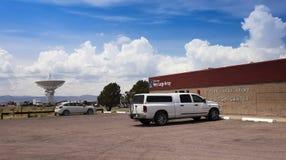 Eine sehr große Reihen-Szene im New Mexiko Lizenzfreies Stockbild