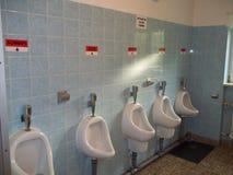 Eine sehr intelligente deutsche Toilette stockfoto