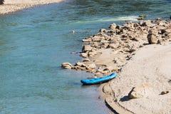 Eine Seitenansicht des Sees in Manas National Park, Assam, Indien lizenzfreie stockfotos