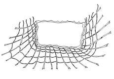 Eine Skizze des Netzes als Hintergrund vektor abbildung
