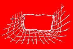 Eine Skizze des Netzes als Hintergrund stock abbildung