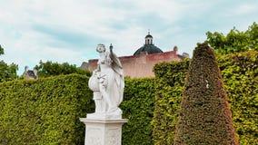 Eine Skulptur nahe Belveder Stockfotografie