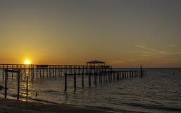 Eine Sonnenuntergangansicht Lizenzfreies Stockfoto