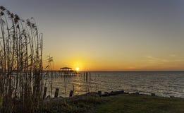 Eine Sonnenuntergangansicht Lizenzfreie Stockbilder