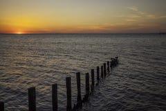 Eine Sonnenuntergangansicht Lizenzfreies Stockbild