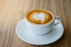 Eine späte Kunst des Tasse Kaffees Stockfoto